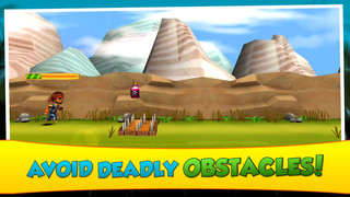 Candy Drop Jungle Run screenshot 1
