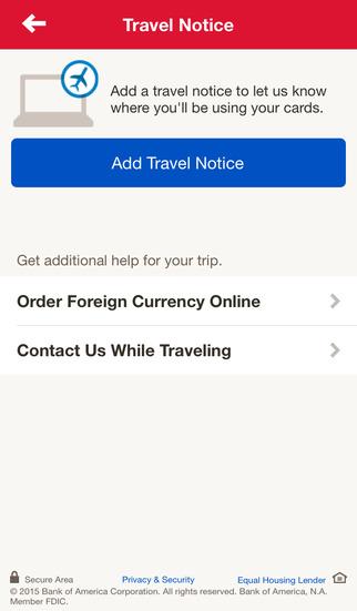 Bank of America Mobile Banking screenshot #3