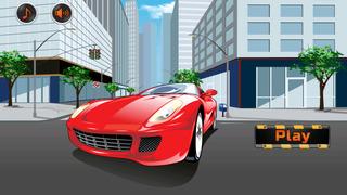 Big Auto Racing vs Grand Traffic screenshot 1