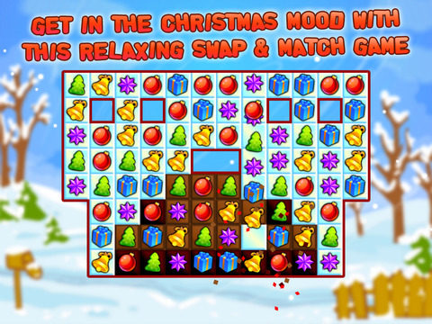 Christmas Sweeper - Relaxing Match-3 Puzzle Game screenshot 5
