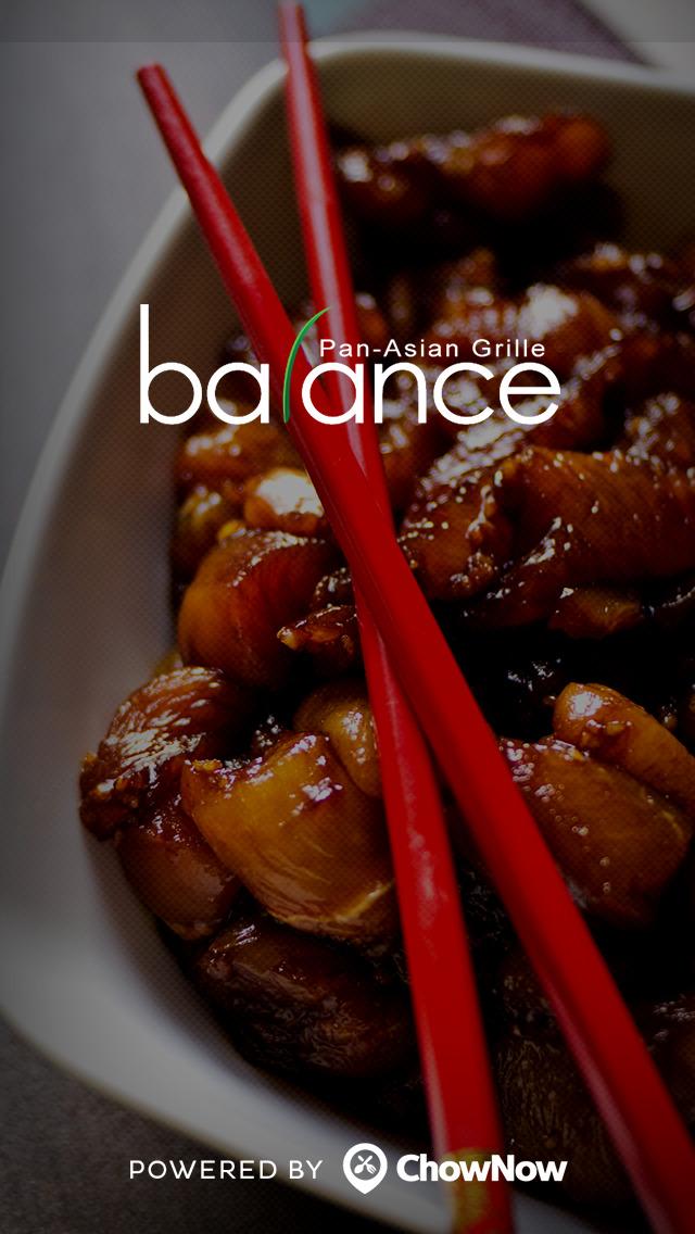 Balance Pan-Asian Grille screenshot 1