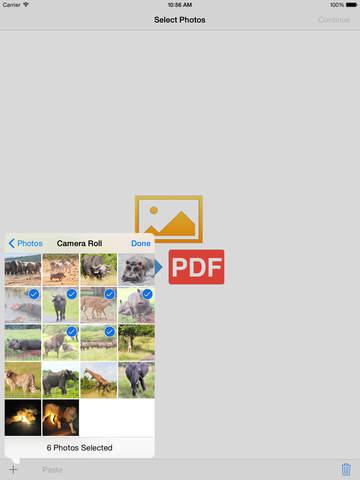 Photos2PDF - Convert fotos to PDF - náhled