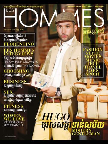 Les Hommes Magazine Cambodia screenshot 6