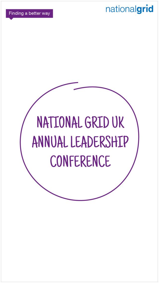 National Grid A-D Conference screenshot 1