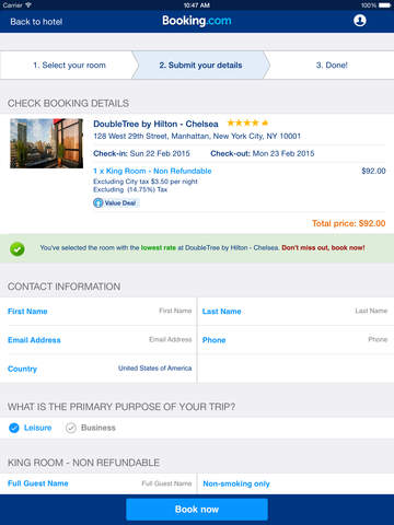 Booking.com: Hotels & Travel screenshot 9