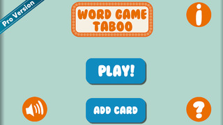 Unspoken Word Game - Charades Like Party Game Free screenshot 1