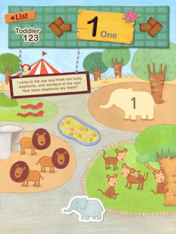 Toddler Number 123 (Free Version) screenshot 3