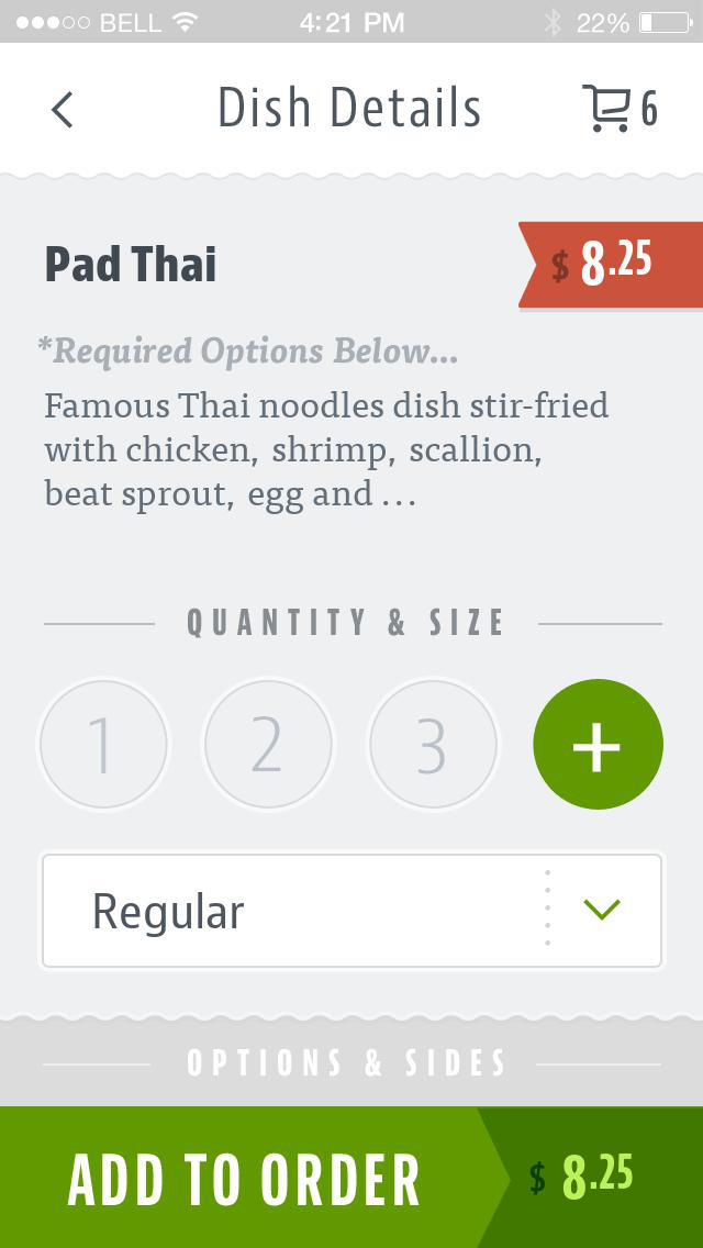 Cilantro Thai & Vietnamese screenshot 4