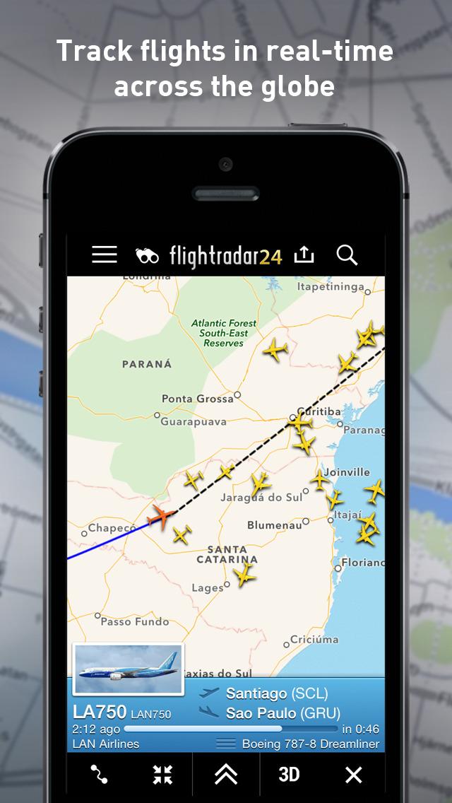 Flightradar24 - Flight Tracker screenshot #1
