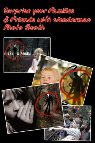 Slenderman Photo Booth - náhled