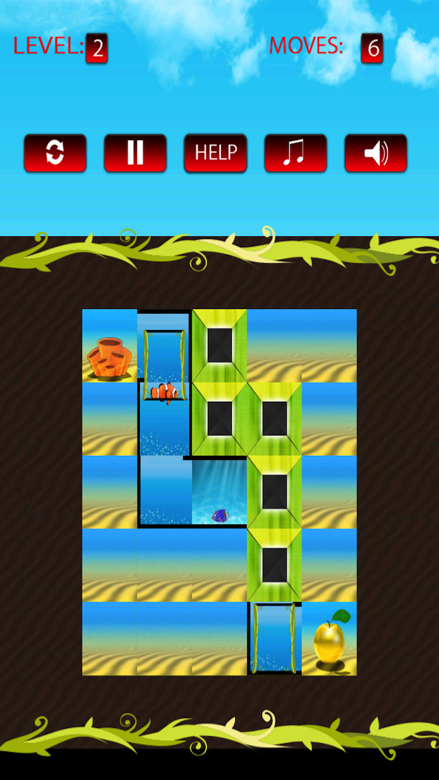 Free Puzzle Game Apple Of Gold screenshot 3