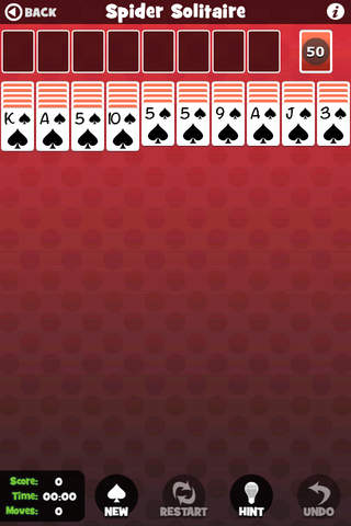 Spider Solitaire Free (Pokima) - náhled