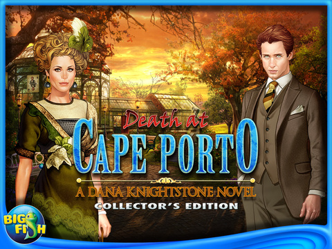 Death at Cape Porto: A Dana Knightstone Novel HD - A Hidden Object, Puzzle & Mystery Game (Full) screenshot 5