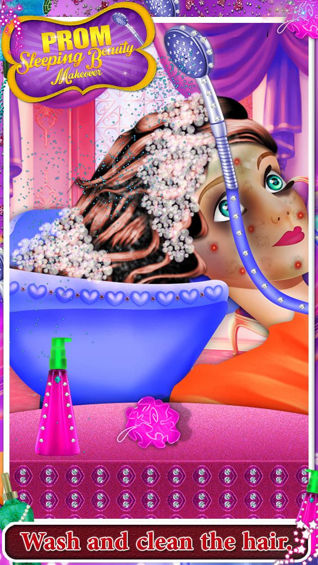 Prom Sleeping Beauty Makeover screenshot 2