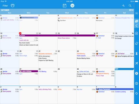 Informant - Agenda, Tasks, Notes Planner screenshot 8