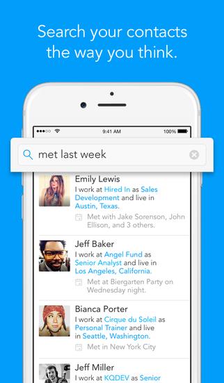 Humin - Phone and Contacts App screenshot 1