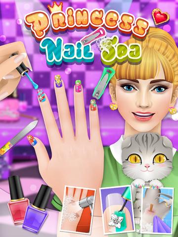 Nail Makeover - girls games screenshot 4