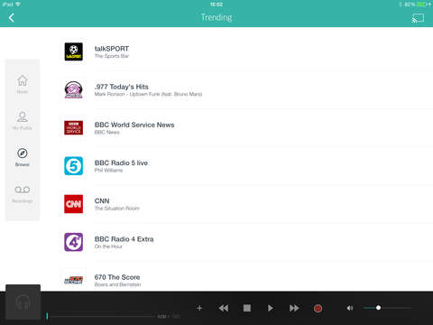 TuneIn Pro - Radio & Sports screenshot 8
