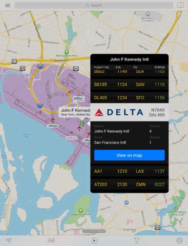 Plane Finder HD screenshot 5