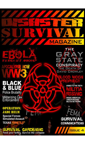 Disaster Survival Magazine screenshot 1