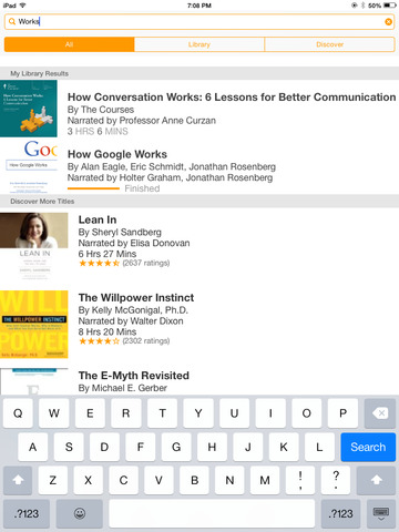 Audible audio books & podcasts screenshot 8