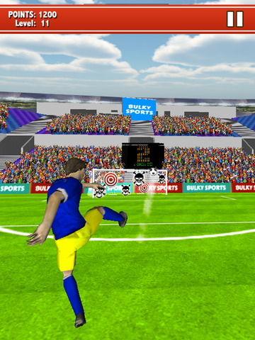 Soccer Kicks 2015 - Ultimate football penalty shootout game by BULKY SPORTS screenshot 10