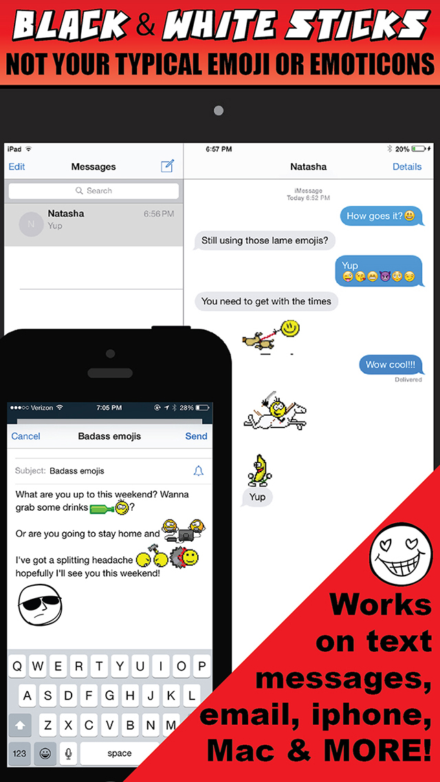 Emoji Stick - Text The Emoticons Texting (Emoticon Emojis) screenshot 2