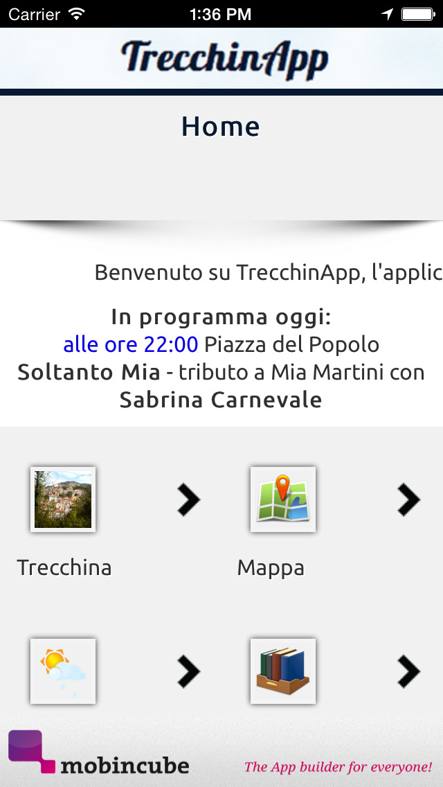 TrecchinApp screenshot 1