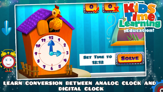Kids Time Learning screenshot 1