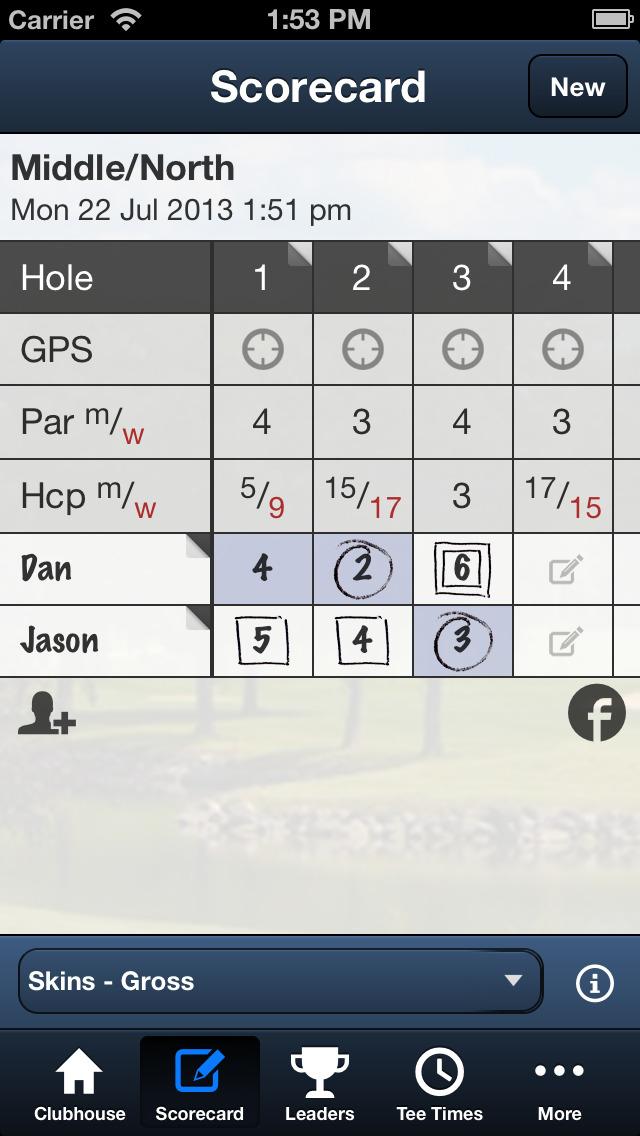 Delbrook Golf Club screenshot 4