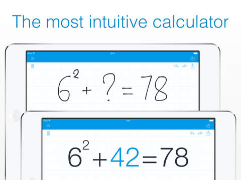 MyScript Calculator - Handwriting calculator screenshot #3