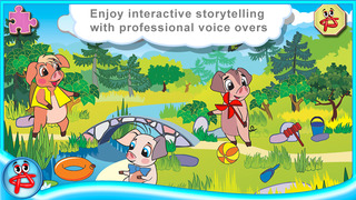 Three Little Pigs: Interactive Touch Book screenshot 2