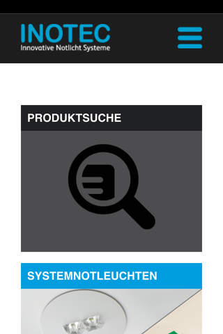Inotec Produkte-App - náhled