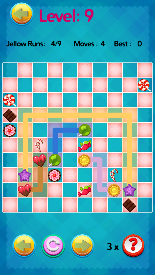 ' A Candy Connect Sweet Treat Path – Free Logic Game screenshot 4