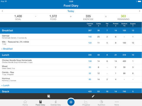 MyFitnessPal screenshot 9