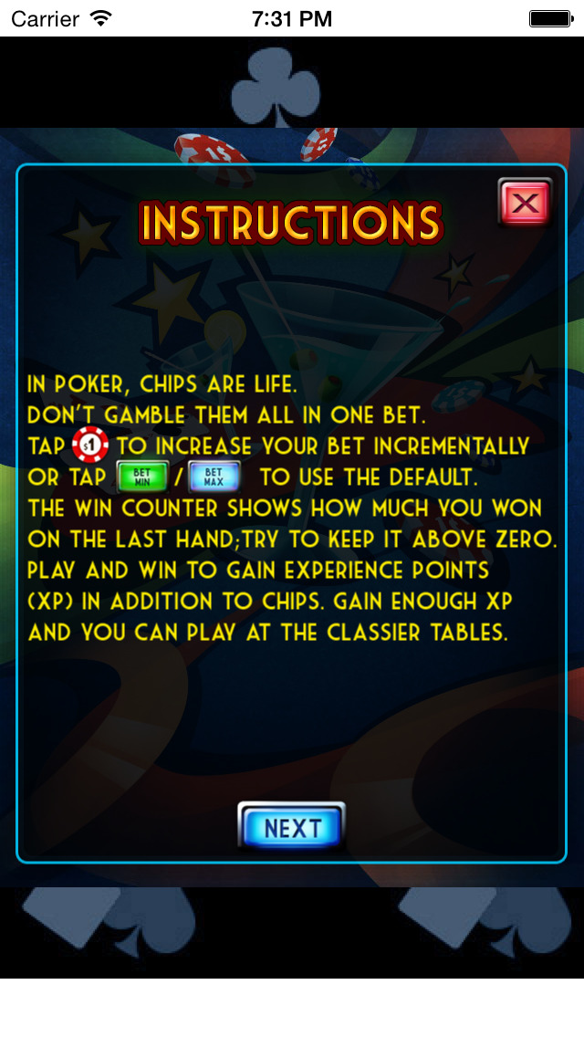 Video Poker Party - Casino screenshot 3