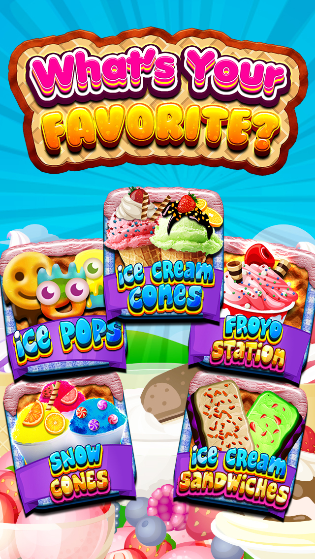""" A Awesome Sauce Ice Cream Mogul Mania Dessert Maker for Kids! screenshot 2"