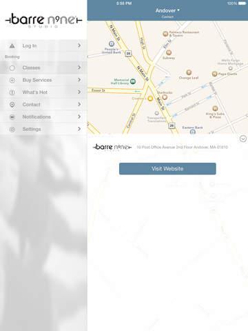barre n9ne® studio screenshot #4
