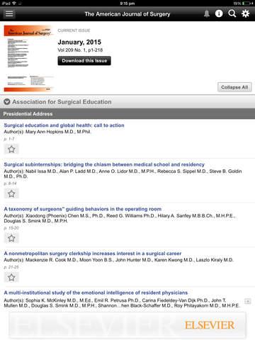 American Journal of Surgery screenshot 8