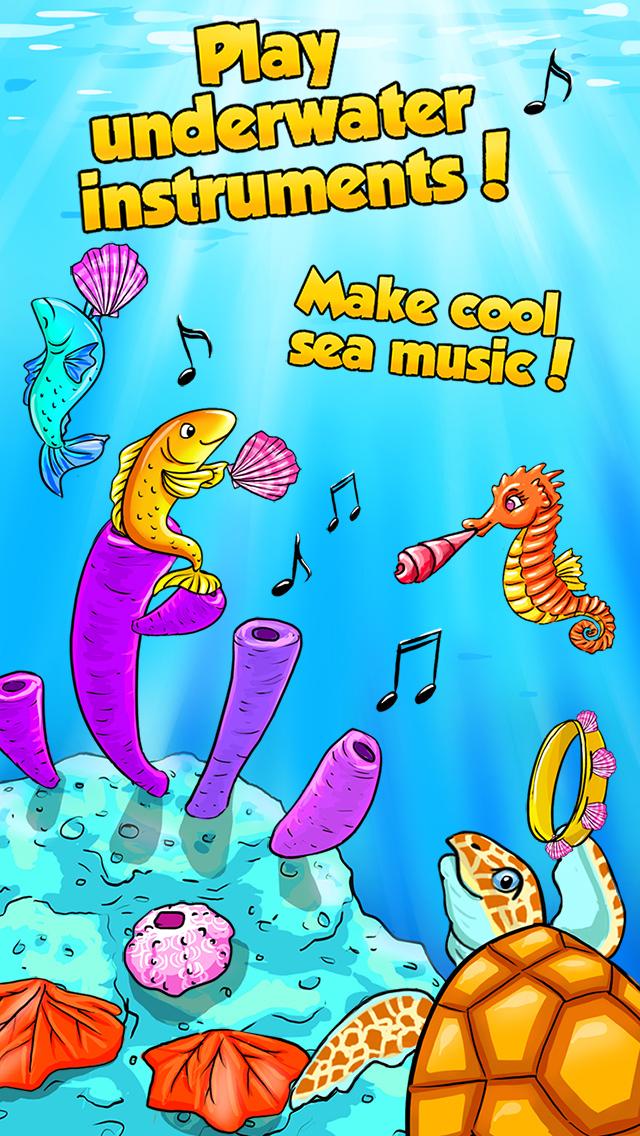 Mermaid Ava and Friends - Ocean Princess Hair Care, Make Up Salon, Dress Up and Underwater Adventures screenshot 5