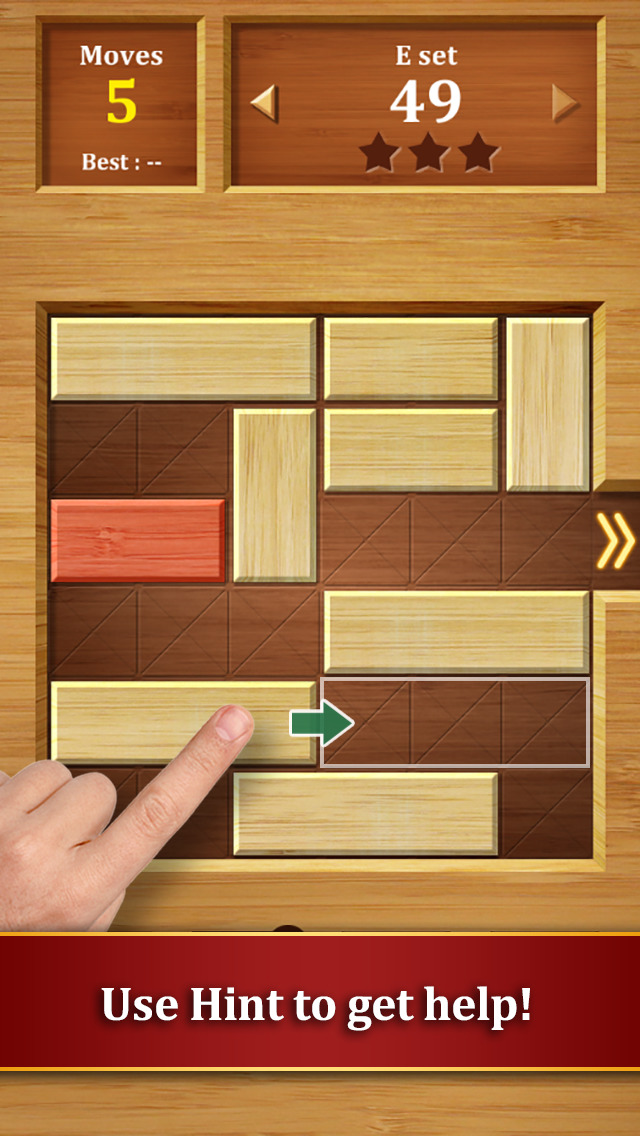 Move the Block : Slide Puzzle screenshot 4