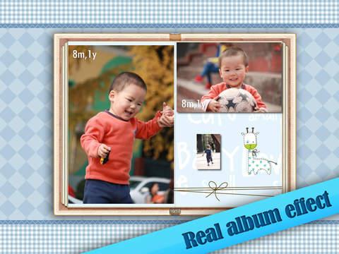 Baby Album for iPad screenshot 1