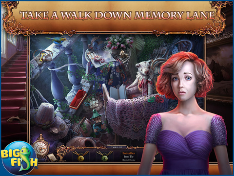 Grim Tales: Color of Fright HD - A Hidden Object Thriller screenshot 2