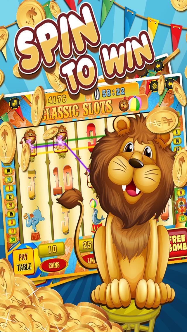 Ace Circus Vegas Slots - Lucky Big Win Classic Jackpot Slot Machine Casino Games HD screenshot 5