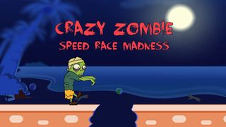 Crazy Zombie Speed Race Madness - new virtual street racing game screenshot 1