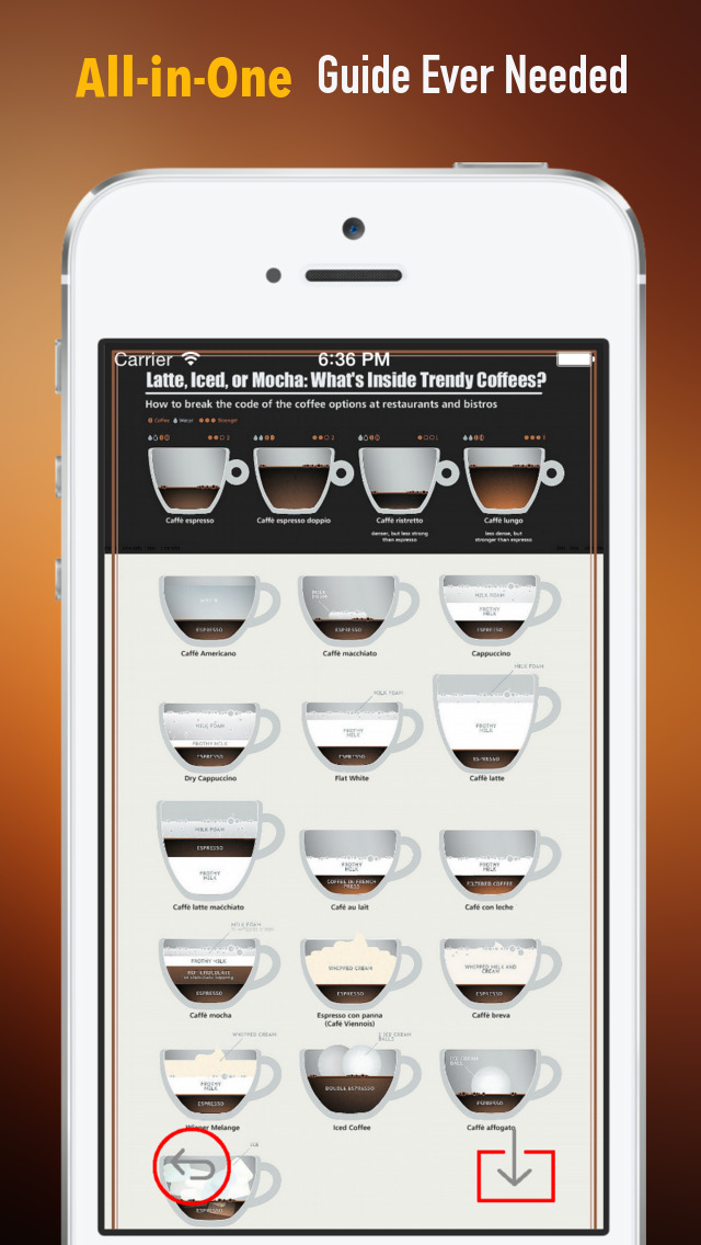 Coffee 101: Quick Study Reference with Video Lessons and Brewing Guide screenshot 2