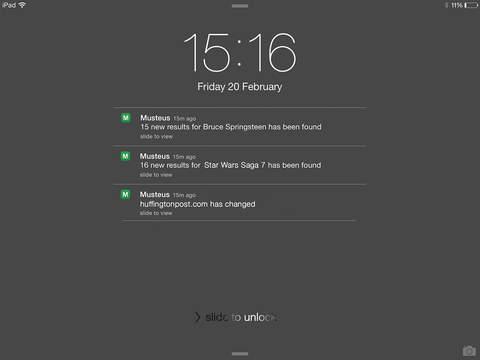 MUSTEUS Push App screenshot 10