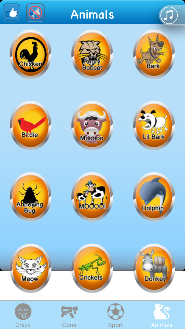 Fun Sound Buttons - Crazy SoundBoard : Funny & Cool Sounds & Effects