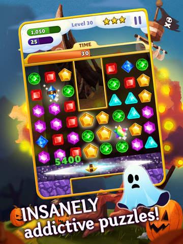Jewel Mania Halloween screenshot 6
