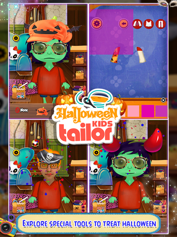 Halloween Kids Tailor screenshot 4